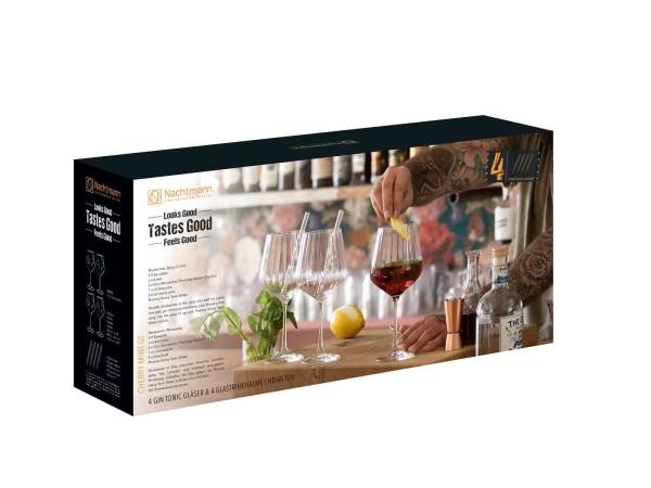 Nachtmann Tastes Good 4 Gin Tonic Cocktail Gläser im Set